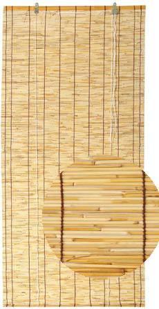 Tenda arella canniccio di bambu' avvolgibile