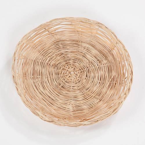Sottopiatto bamboo naturale cm25