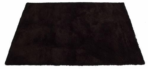 Tappeto frangia corta marrone 60x120