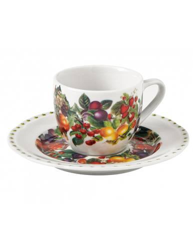 Tazzine caffè frutti Le Primizie 4 pezzi