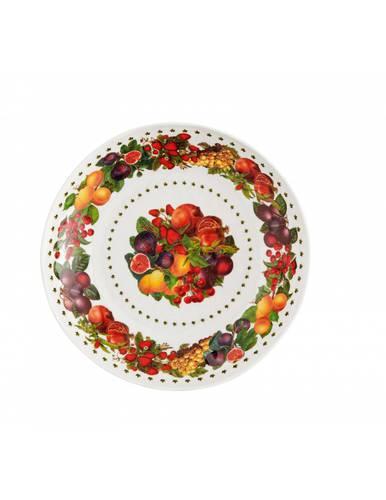 Piatto fondo melamina frutti Le Primizie