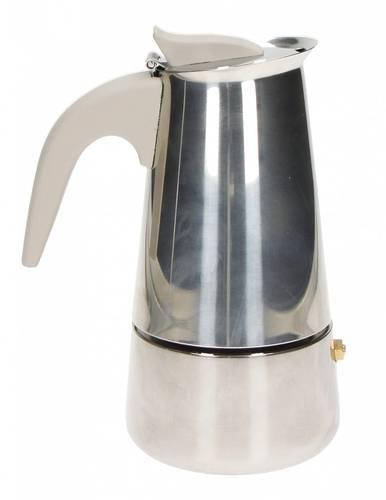 Caffettiera Borbottina inox 4 tazze ad induzione