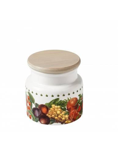 Barattolo frutti Le Primizie porcellana tappo legno 11h