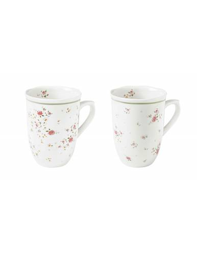 Tazza mug Nonna Rosa set 2 pz porcellana
