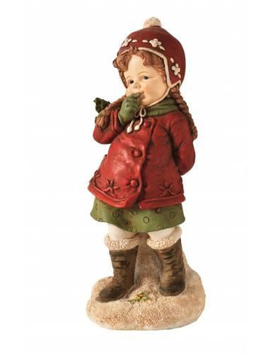 Bambina statuina natalizia 24,5h