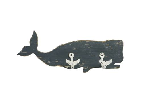 Appendiabiti balena legno 2ganci