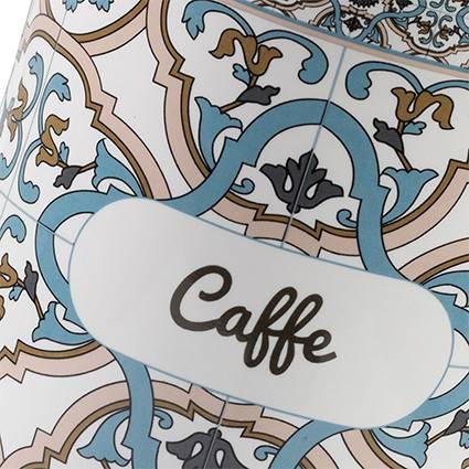 Barattolo Noto caffe ceramica colorata azzurra