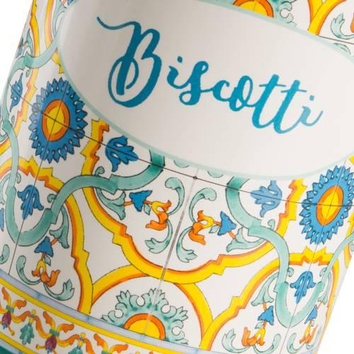 Barattolo Ortigia biscotti ceramica colorata