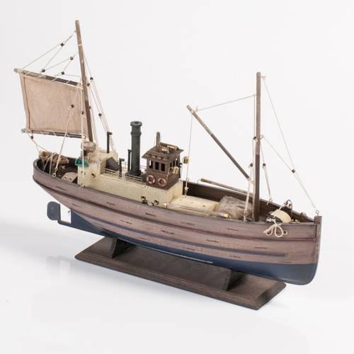 Barca peschereccio legno