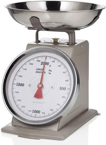 Bilancia cucina vintage acciaio tortora 2 kg