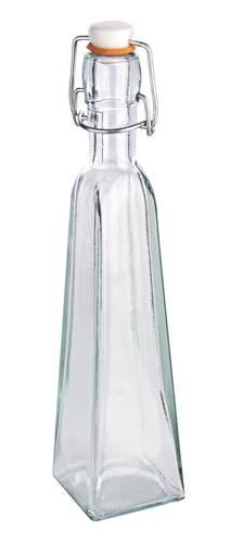Bottiglietta vetro ermetica formato piramide 300cc