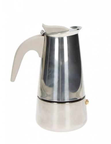 Caffettiera Borbottina inox 2 tazze ad induzione