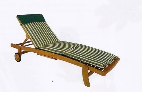 Cuscino lettino righe verdi