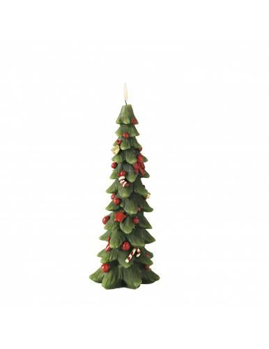 Candela natalizia albero di natale 25h