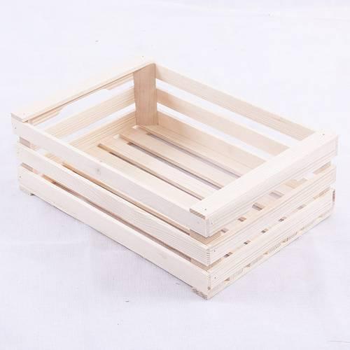 Cassettina legno grezzo tipo frutta 30x20