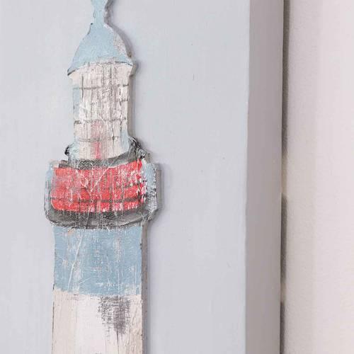 Coppia quadri marini dipinto di faro 90h