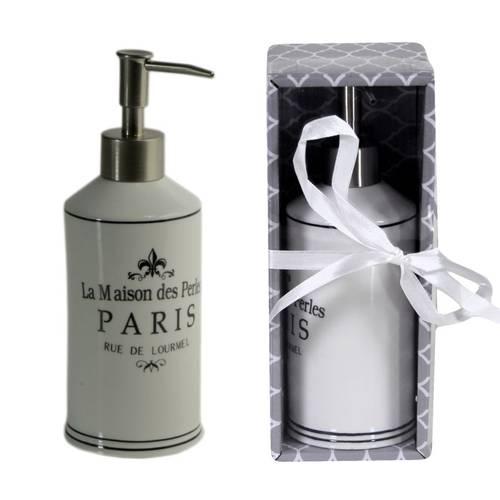 Dispenser sapone liquido ceramica Paris