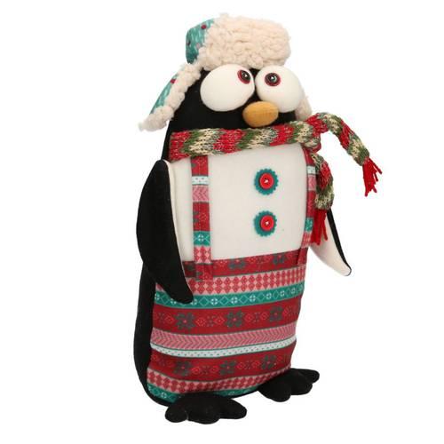 Fermaporta pinguino natalizio freddoloso tessuto 40h
