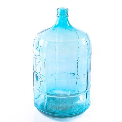 Giara vetro blu