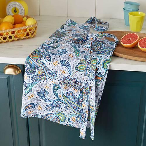 Grembiule cotone fiori Italian Paisley Ulster Weavers