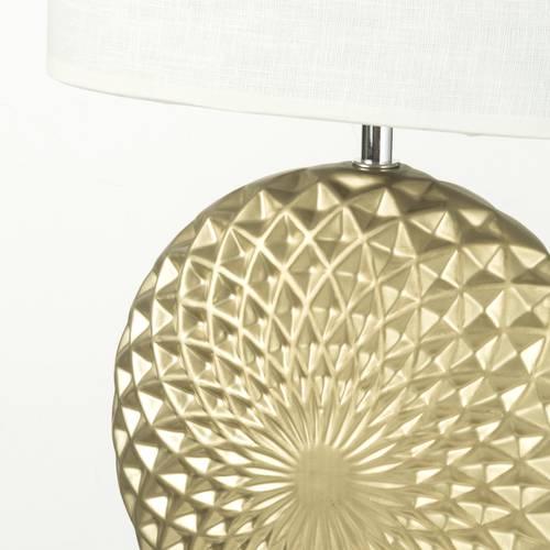Lampada ceramica disco oro 45h