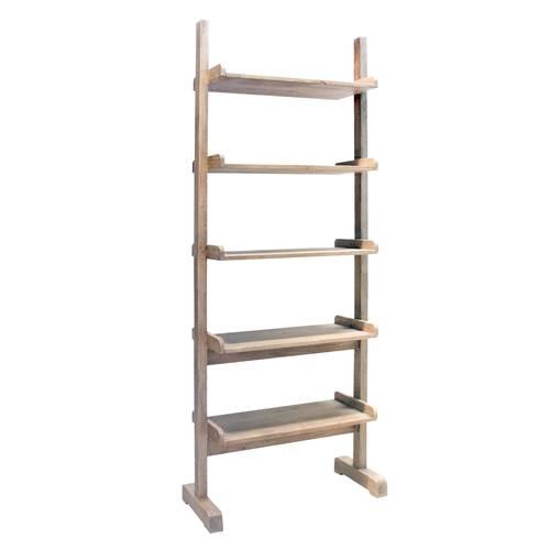 Libreria scala legno abete spazzolato