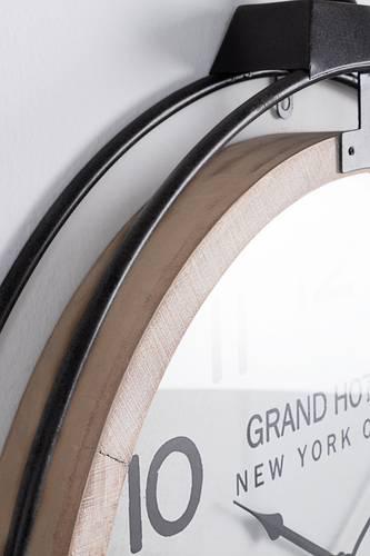 Orologio ferro elegno Grand Hotel da parete 62x79h