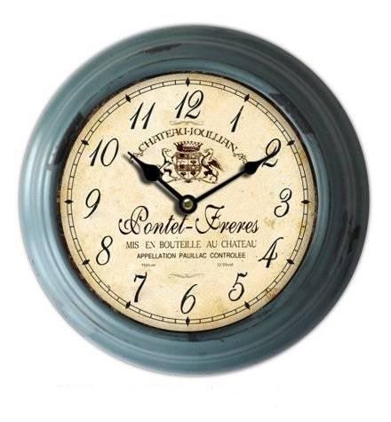Orologio ferro grigio tondo Pontet Freres cm23