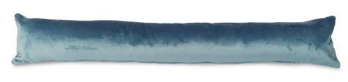 Paraspifferi velluto azzurro 90cm