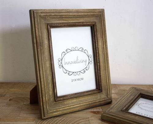 Portafoto coloniale cornice legno 15x20