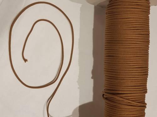 Ricambio corda cotone marrone per tende avvolgibili bambu