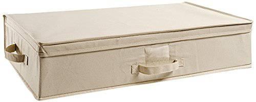 Scatola armadio cotone bianco 70x40x15,5