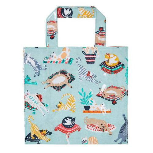 Shopping bag Kitty Cats pvc small Ulster Weavers