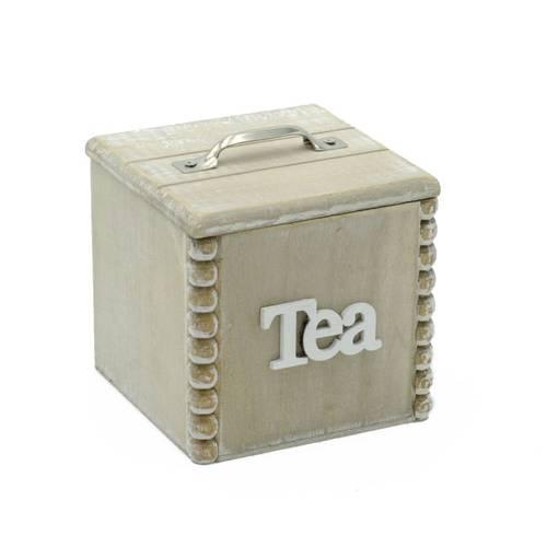 Scatola porta bustine tea natural