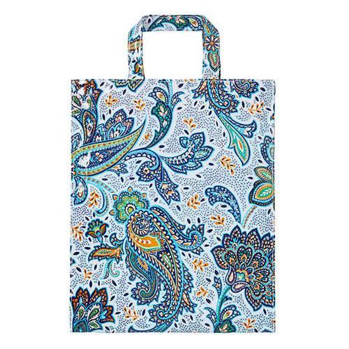 Shopping bag fiori Italian Paisley pvc large Ulster Weavers
