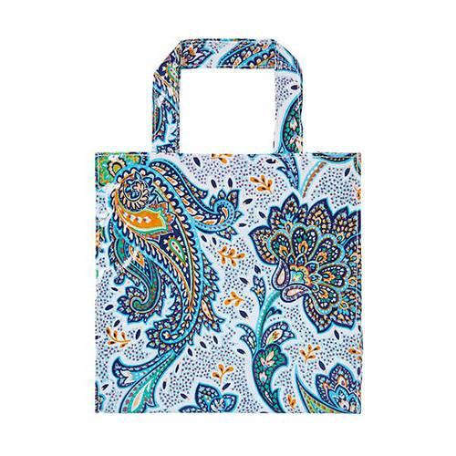 Shopping bag fiori Italian Paisley pvc small Ulster Weavers