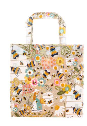 Shopping bag api e fiori pvc small Ulster Weavers