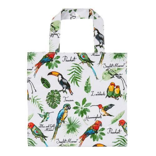 Shopping bag foglie tropicali pvc small Ulster Weavers