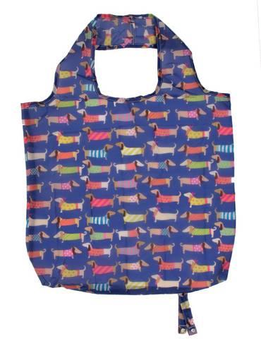 Shopping bag pieghevole Bassotti