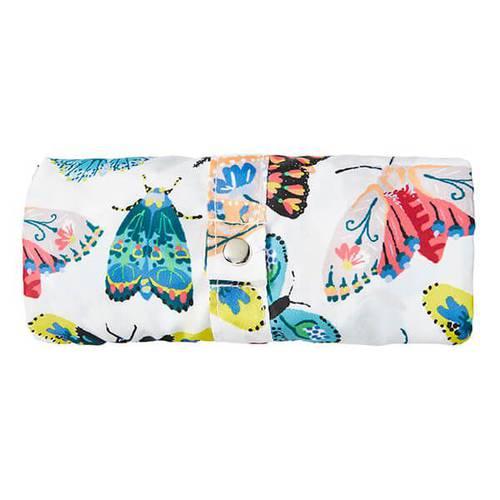 Shopping bag pieghevole farfalle colorate
