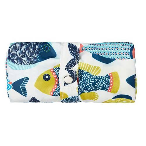 Shopping bag pieghevole pesci colorati aquarium
