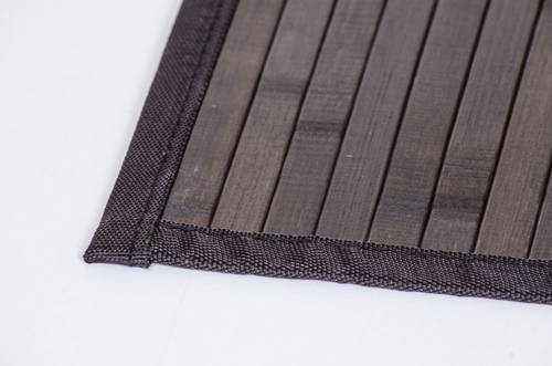 Tappeto bamboo noce