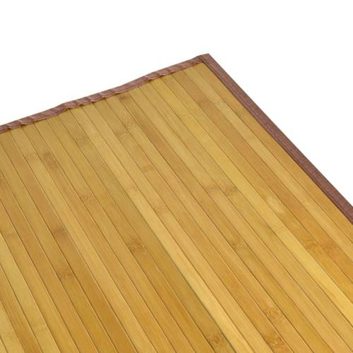 Tappeto bamboo naturale miele listelli 120x180