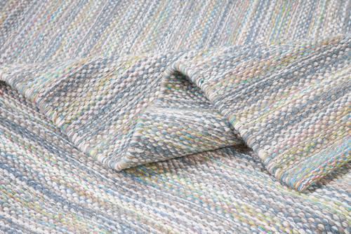 Tappeto lana disegual filo verde 160x240