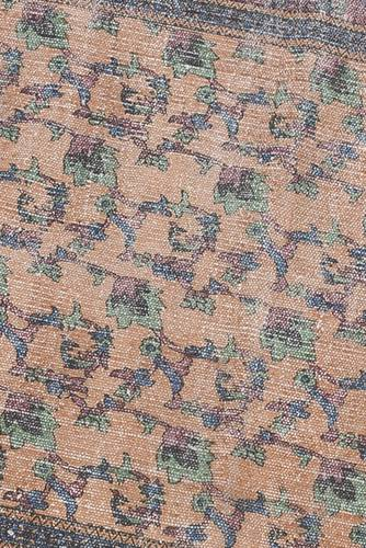 Tappeto passatoia arredo marrakesh cotone bordeaux 90x240