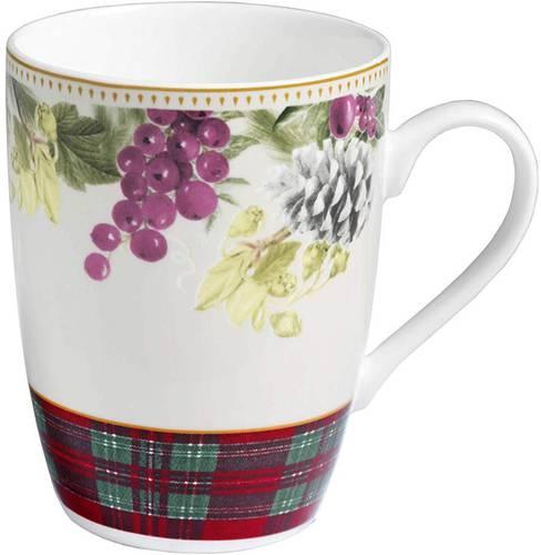 Tazza mug Sottobosco set2 pz porcellana