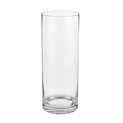 Vaso vetro cilindro 15x40h