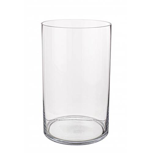 Vaso vetro cilindro 18x30h