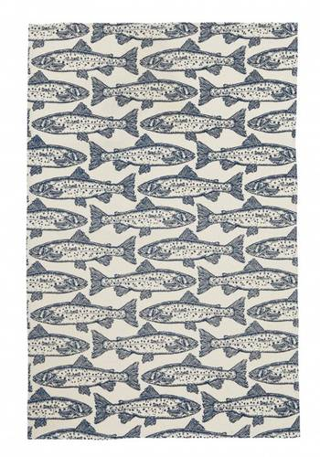 Asciugapiatti - tea towel cotone salmoni