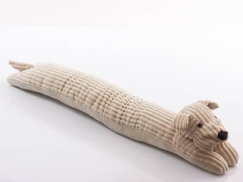 Paraspifferi cane velluto beige 90cm